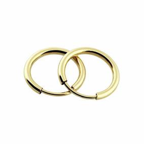 1d841ce56cc20 Brinco Argola Ouro - Brincos Ouro no Mercado Livre Brasil