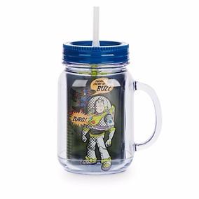 Caneca Buzz Lightyear Toy Story Com Canudo - Disney Store