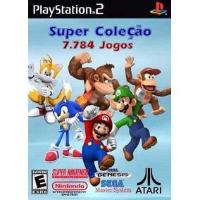 16123 Jogos De Super Nintedo Mega Nes Atari Para Play2 Pc De