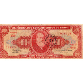 Nota De 100 Cruzeiros