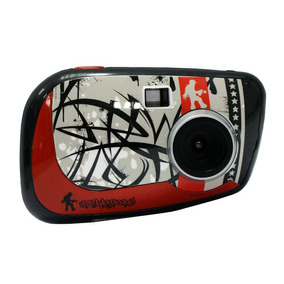 Camara Digital Vivitar Infantil Lcd Full Hd Roja Zoom Oferta