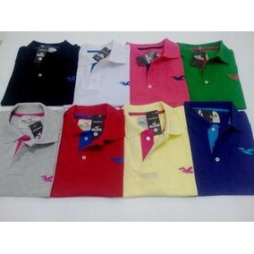 Camisa Gola Polo Hollister Us Polo