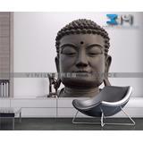 Vinilos Decorativos Orientales Buda 04. Sticker Yoga