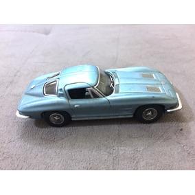 Carro Miniatura Metal Chevrolet Corvette Fich Autocollection
