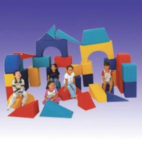 Bloques Gigantes De Estimulacion Kids Colors Envío Gratis