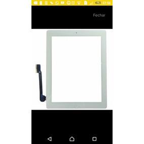 Tela Vidro Touch Ipad 3 Com Home + 3m Mod. A1403 A1416 A1430