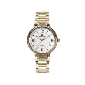Reloj Montescano Tagd02 Dorado Pm-7068843