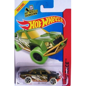 Off Track Hot Wheels Race T-hunt 2014 184/250 Bfd51