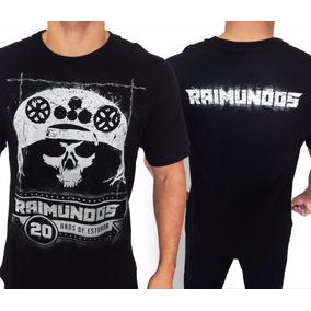 Camiseta Raimundos 20 Anos De Estrada E1028 Consulado Rock 49230d648c0