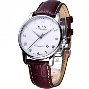 51db1e3aad2 Relógio Mido Baroncelli M86004268 Automatico 38mm Couro - Relógios ...