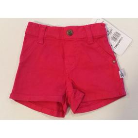 Shorts Bebê Hering Feminino - Cód. 2137