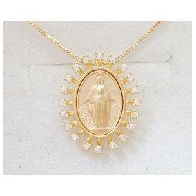 cd9f382f16954 Colar Nossa Senhora Das Gracas De Ouro - Joias e Relógios no Mercado ...