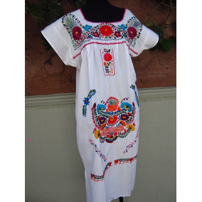 Vestidos Bordados Mexicanos Vestidos En Mercado Libre Argentina