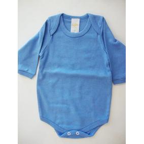 Body Bebe Manga Longa - Bodies Azul aço de Bebê no Mercado Livre Brasil 5a8c33457ec