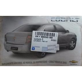 Suplemento Manual Instruçoes Gm Cobalt 2013 98550180