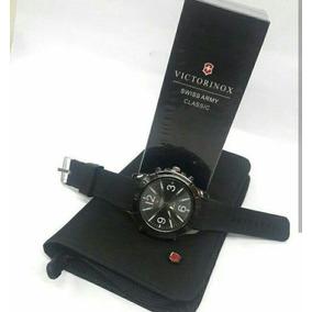 Combo Victorinox Reloj Portachequera Y Perfume Swiss Army