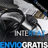 Inferfaz Usb Guitar Link Conecta Tu Guitarra A Tu Pc O Mac