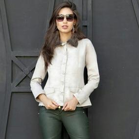 32b3b9d629 Blazer Jeans Feminino Casacos - Blazer no Mercado Livre Brasil