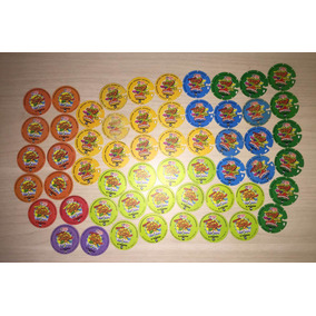 Tazos Loney Animaniacs Pokemon Cheetos- Atualizado Lote C/10