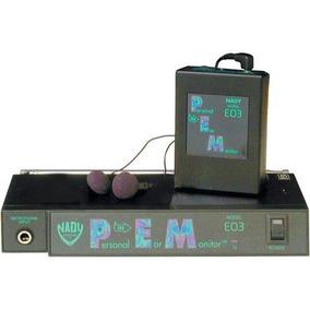 Sistema De Monitoreo Inalámbrico Nady Eo3 72.1 Mhz