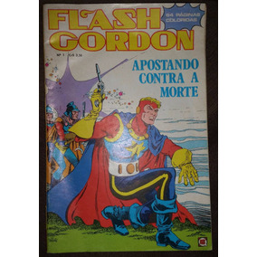 Gibi Flash Gordon Nº 1 - Editora Rge 1975