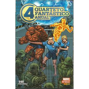 Quarteto Fantastico Anual 01 - Panini - Bonellihq Cx431 H18