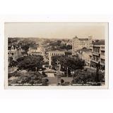 Cartao Postal Fotografico Uberaba Mg Vista Parcial - Anos 50
