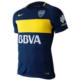 Camiseta Nike Boca Juniors Oficial Stadium - Camisetas en Mercado ... e21b44c94163e