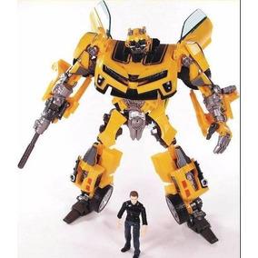 Transformers Bumblebee E Sam Human Alliance Lv3 Carro Robo