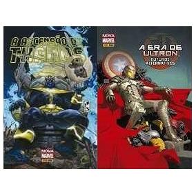 Vilões Marvel:magneto,loki,ultron,caveira Vermelha,thanos...