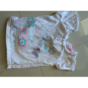 Playera Niña Bordada Talla 4