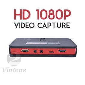 Placa Captura Ez284 Fullhd 1080p Gameplay Streaming Gamer