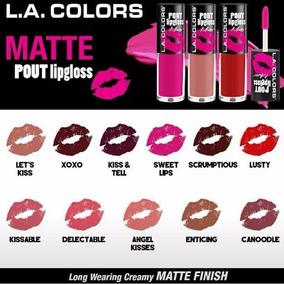 Labial Mate L.a Colors Liquido