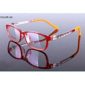1962b72a2737d Armacao De Oculos De Grau Feminino Acrilico Vermelho - Óculos no ...