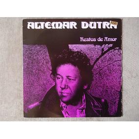 Altemar Dutra - 12 Canções - Lp Vinil - Gravadora O D E O N