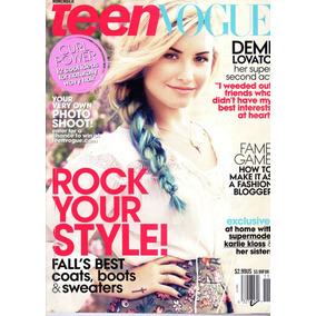 Teen Vogue: Demi Lovato / Karlie Kloss / Mackenzie Foy