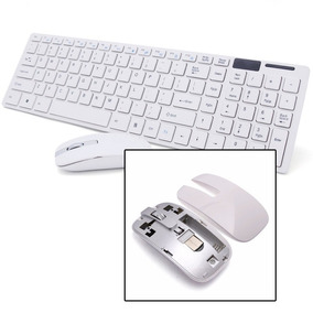 Kit Teclado + Mouse Wireless S/ Fio 1600dpi Smart Mod 2019