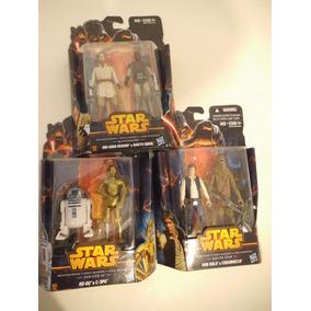 Obi-wan, Darth Maul, C-3po, R2-d2, Han Solo, Star Wars