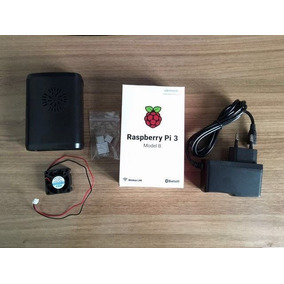 Raspberry Pi3 Pi 3 Case Cooler Dissipador Fonte 32 Gb C10 N