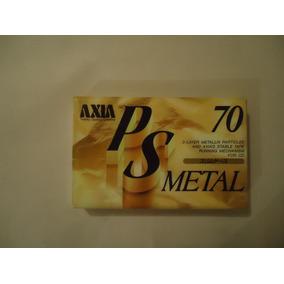 Fita K7 Cassete Axia Metal 70 Minutos Lacrada! Tdk Sony Akai