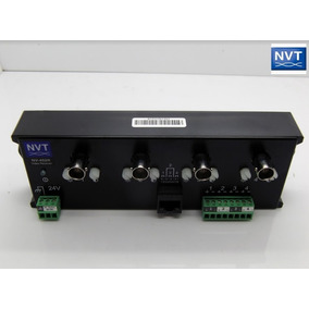 Receptor Ativo De Video Amplificado De 4 Canais Nvt Nv-452r