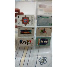 Lote 40 Cartões Telefônicos