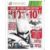 Xbox360 Batman Arkham City Goty