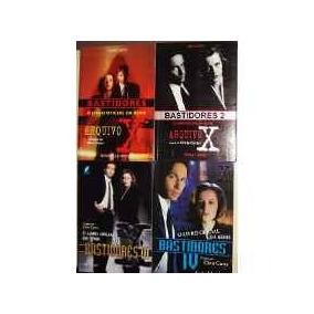 Coleção Livros Arquivo X Bastidores ( Oficial - 4 Volumes )