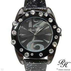 Reloj Paris Hilton, Plastico Y Cristal Envio Gratis B Sp0