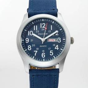 Reloj Steinhausen Impulse, Hombre, Aluminio Y Piel Sp0