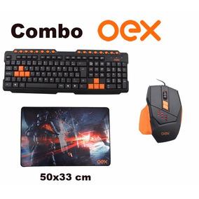 Kit Gamer Teclado Multimidia E Mouse 4000 Dpi E Mouse Pad