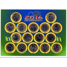 Cartela Com Moedas Das Olimpíadas 2016 !!!