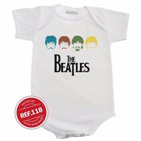 Body The Beatles Banda Bebê Bori Bodies Camiseta Infantil
