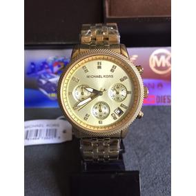 Relogio Feminino Mk 5676 Dourado - Joias e Relógios no Mercado Livre ... 52b03ff4cd